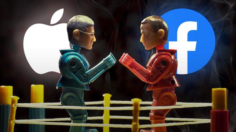 Facebook y Apple, enfrentados por privacidad