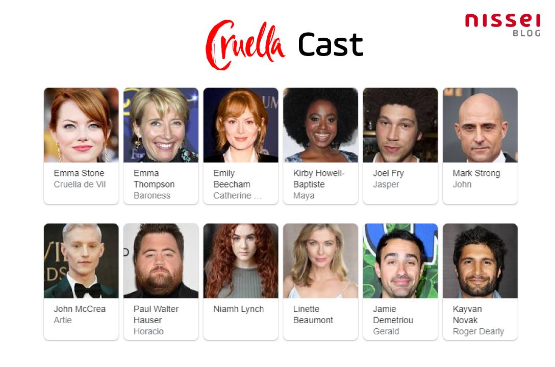 Cruella Cast