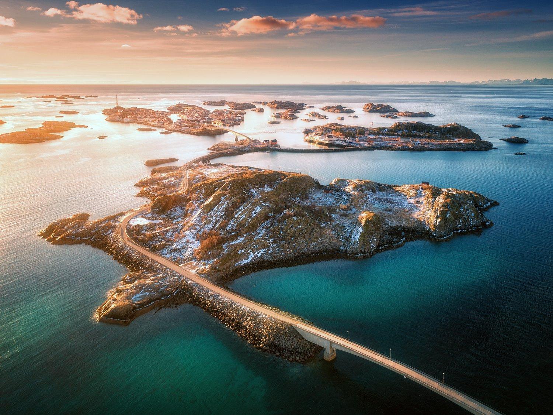 Mototurismo de isla en isla de Noruega - National Geographic