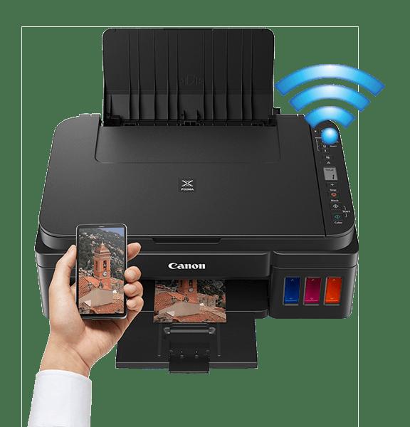 Impresora Canon Pixma 3110 con conexión Wi-Fi