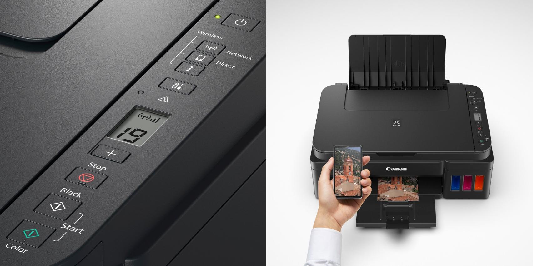 Impresora Canon Pixma 3110 + pantalla LCD