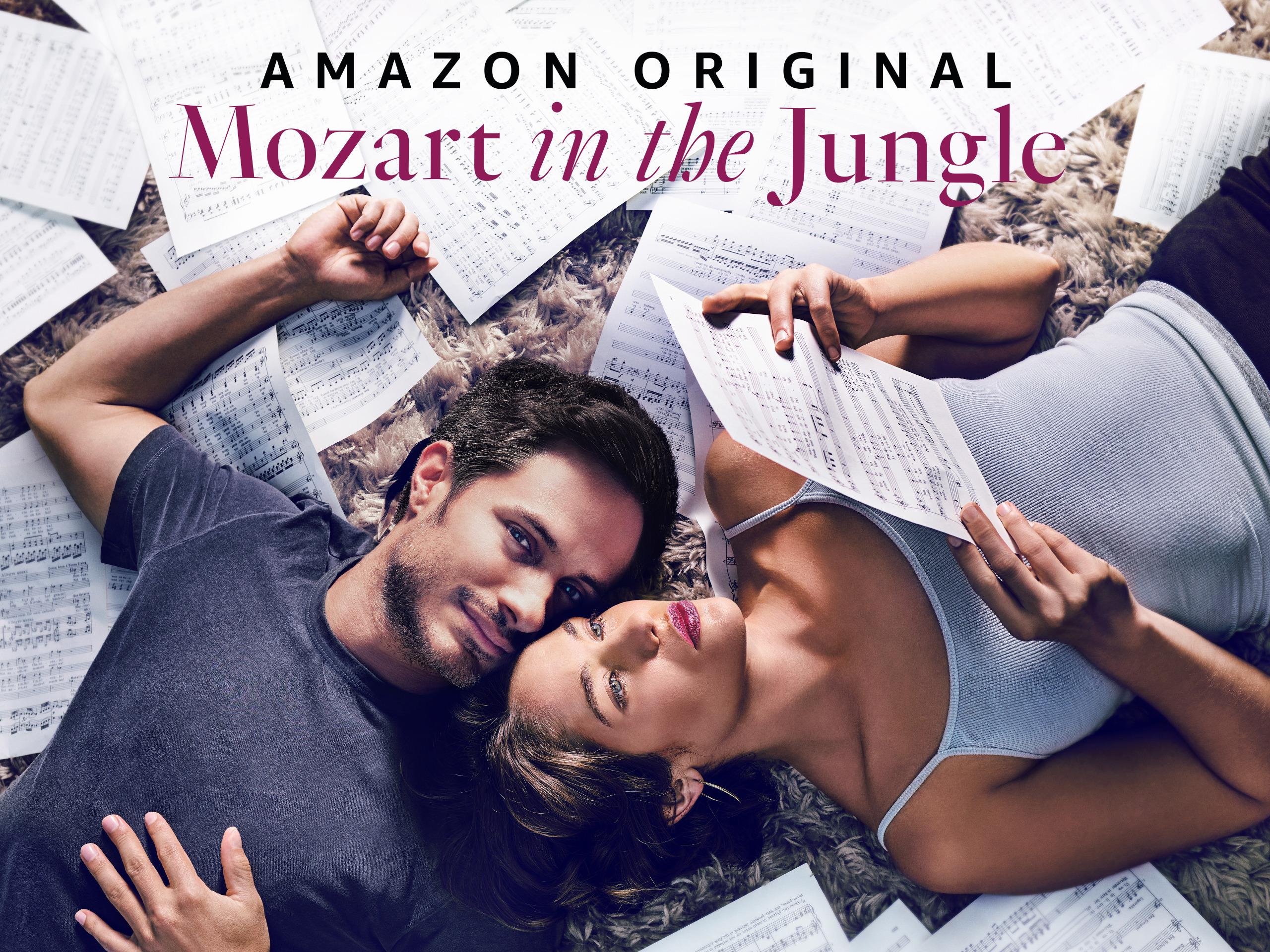 Mozart in the Jungle - Portada oficial Amazon Prime Video