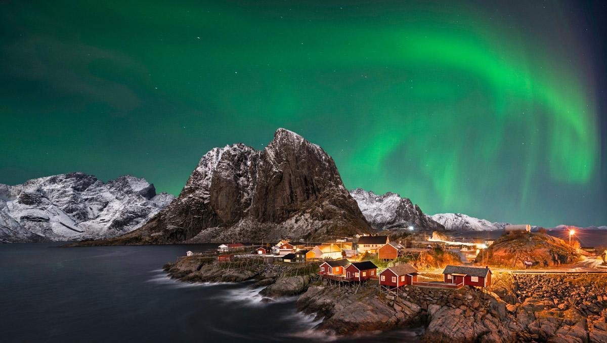 Noruega y sus auras boreales