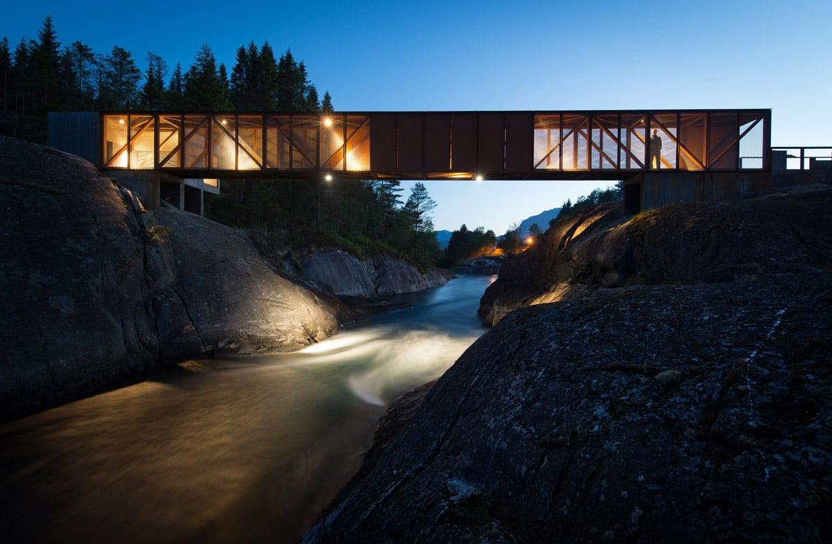 El puente de Hose, en la ruta escénica de Ryfylke - National Geographic