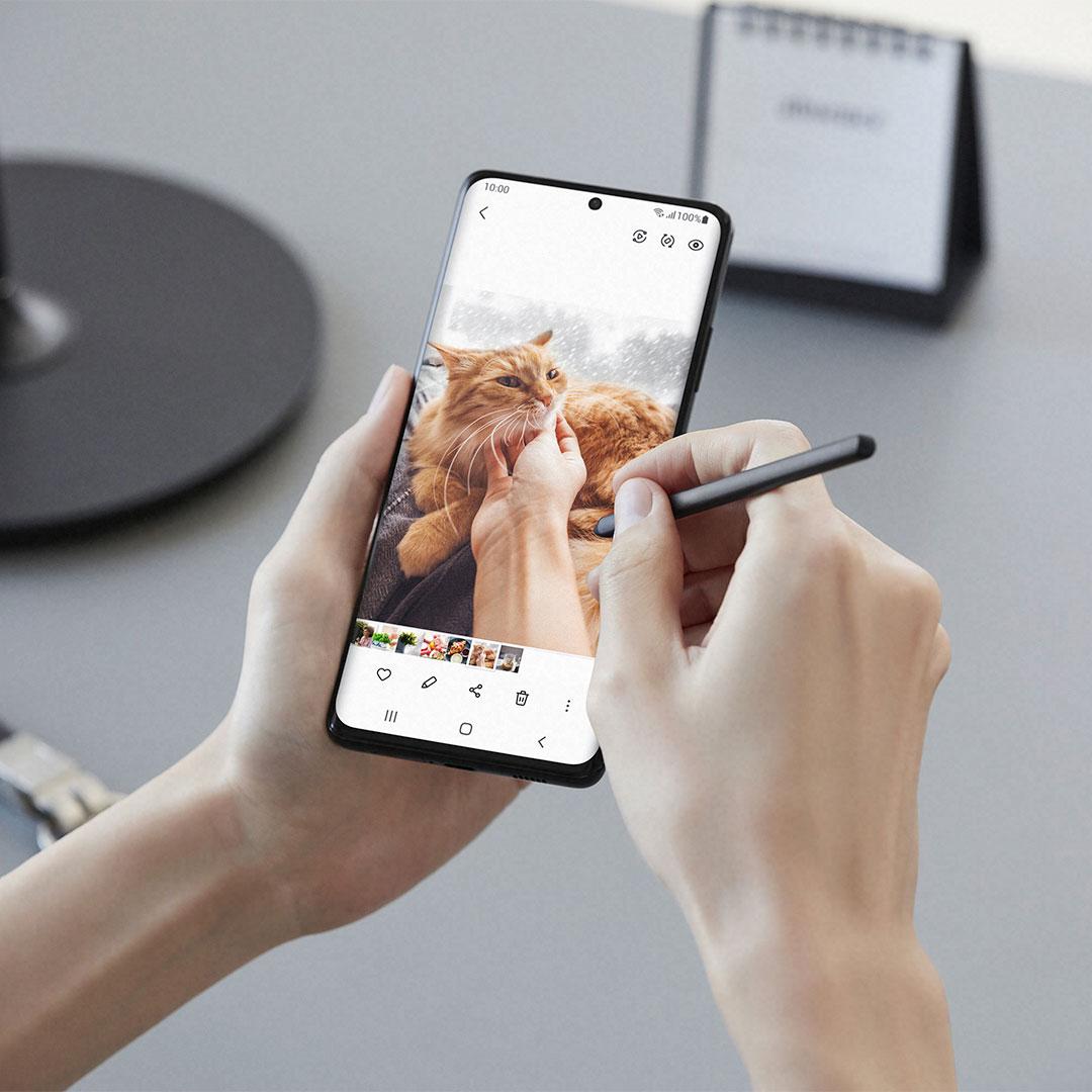Samsung Galaxy S21 Ultra y el S pen