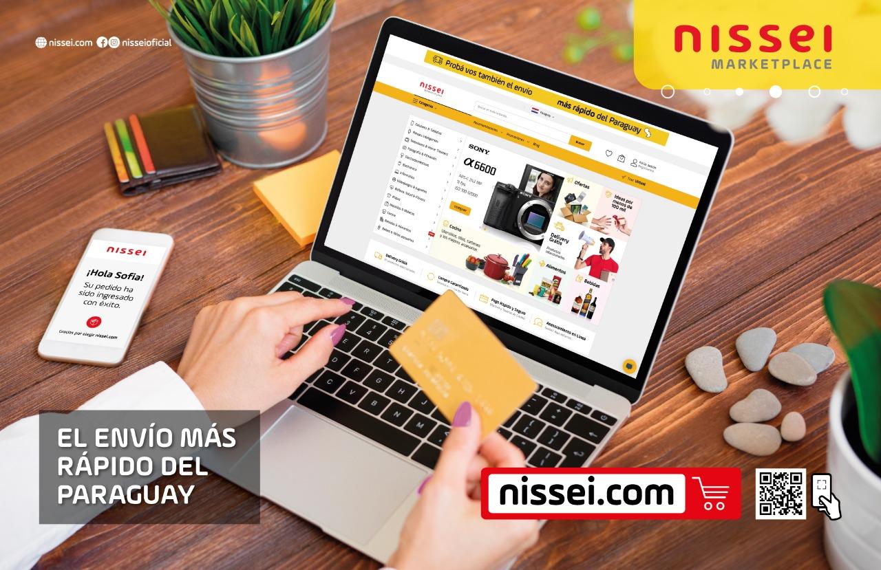 Comprar online en Paraguay, nissei.com