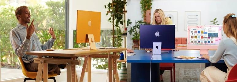 iMacs con nuevos colores