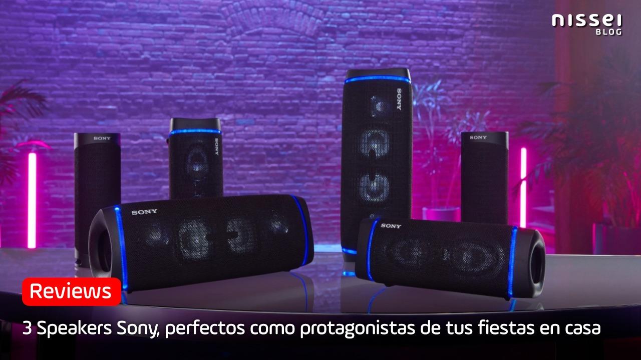 Los 3 mejores speakers Sony 2021
