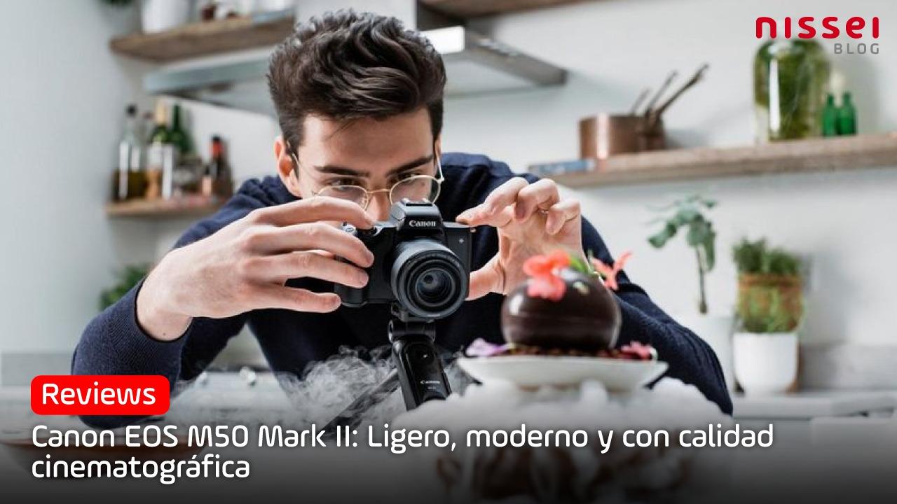La cámara perfecta para empezar en YouTube: Canon M50 Mark II