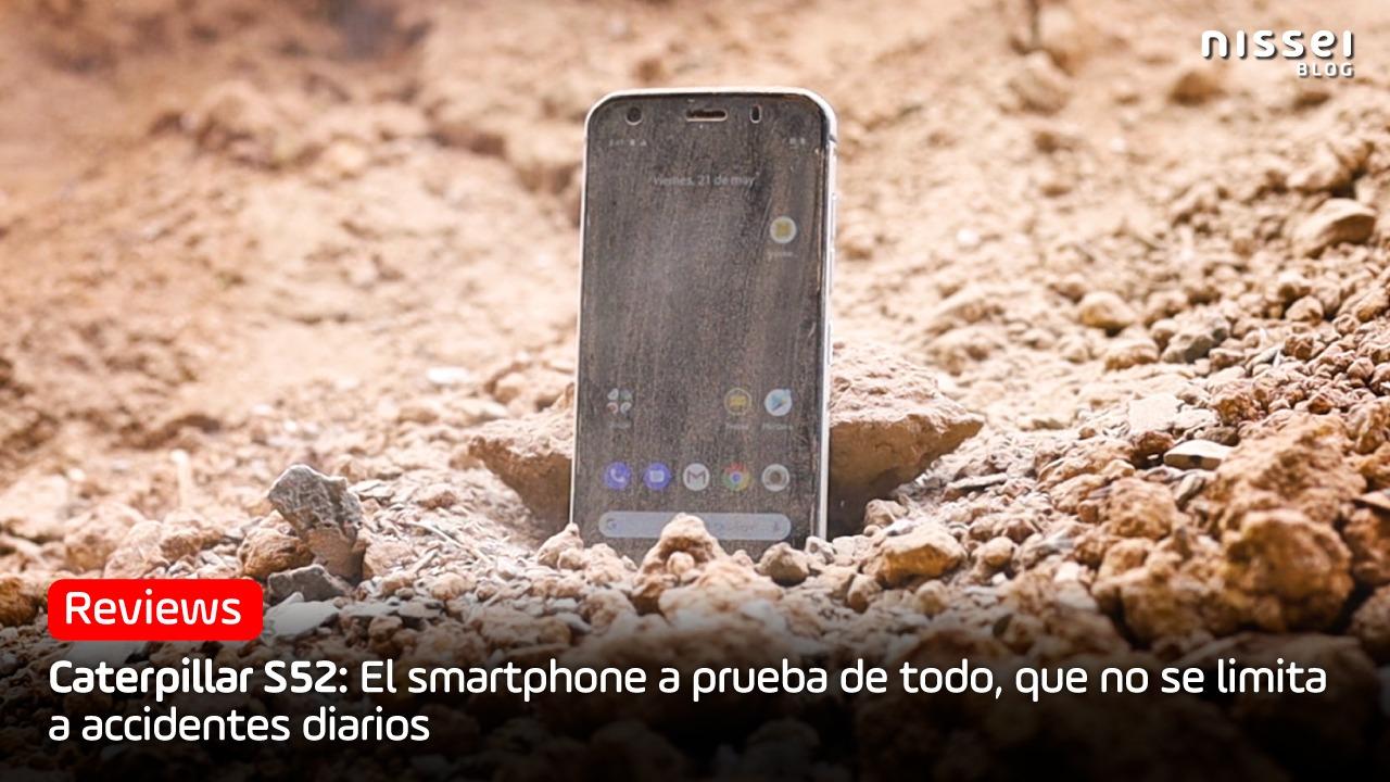 Caterpillar S52: El smartphone resistente más fino del mercado