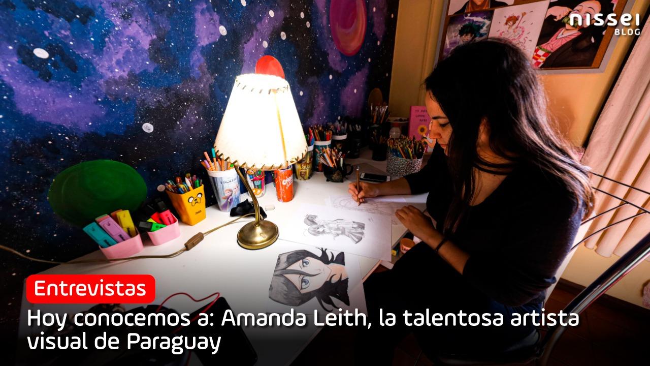 Amanda Leith, la artista visual esteña que impacta con su talento