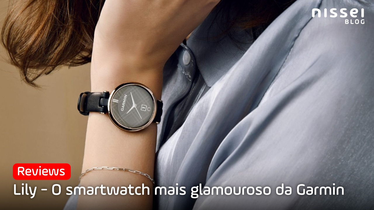 Lily, o menor e mais elegante smartwatch da Garmin