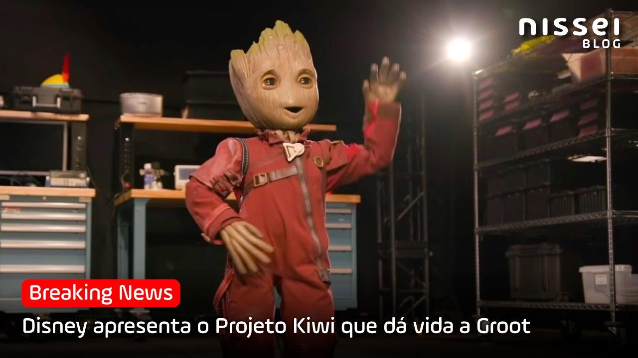 Com vontade de abraçar o Groot? Agora será possível!