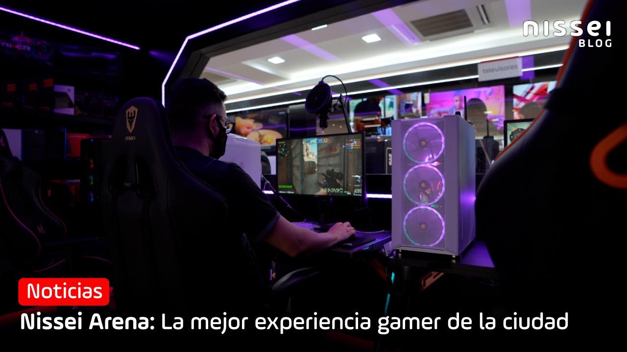 Nissei Arena, la mejor experiencia gamer de Ciudad del Este