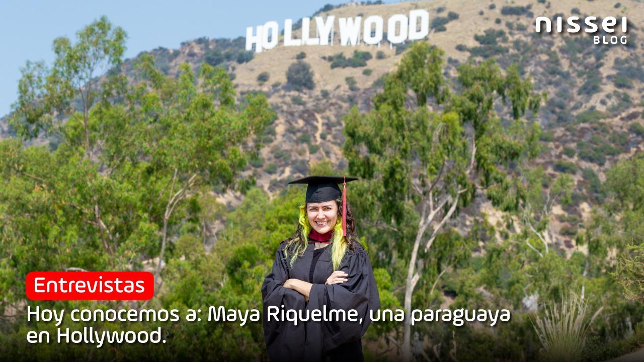 Por el Día Mundial de la creatividad, hablamos con la cineasta Maya Riquelme