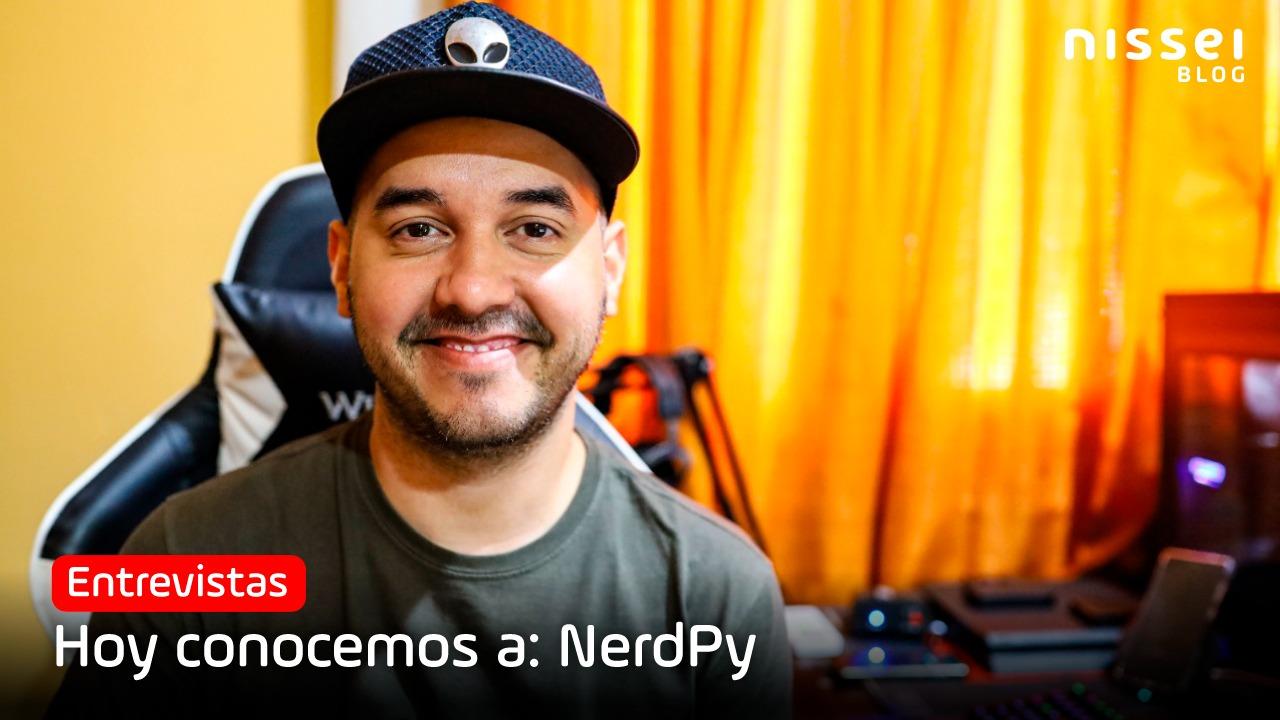 Nerdpy, el nerd de otra galaxia que hoy es referente en el universo gamer de Paraguay