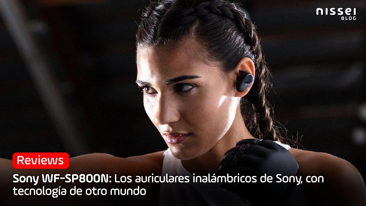 Sony WF-SP800N: El auricular creado para tus entrenamientos
