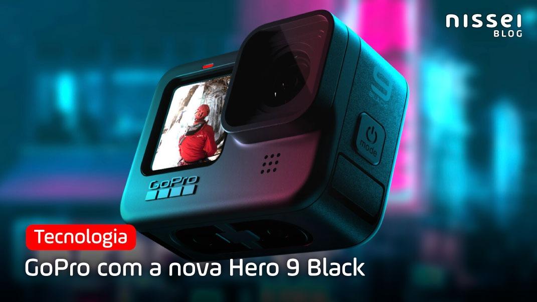 GoPro com a nova Hero 9 Black
