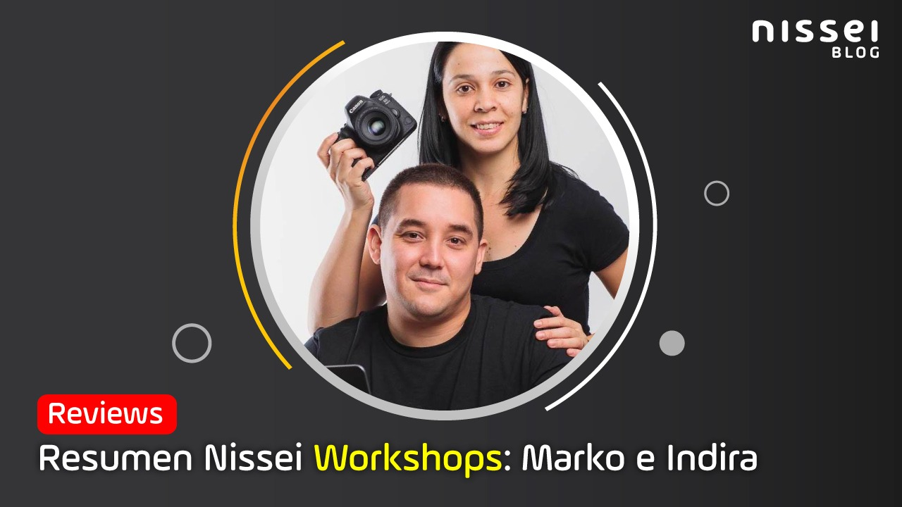 Nissei Workshops: Resumen del taller de Fotografía de Producto