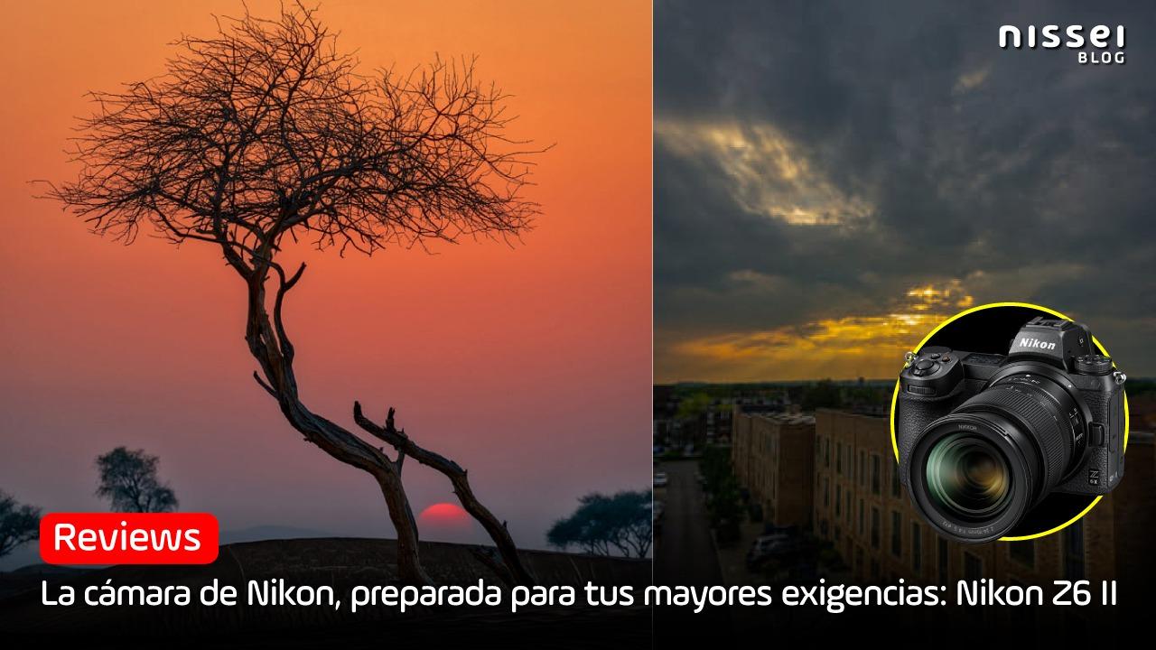Nikon Z6 II - Una cámara versátil, mirrorless y full frame