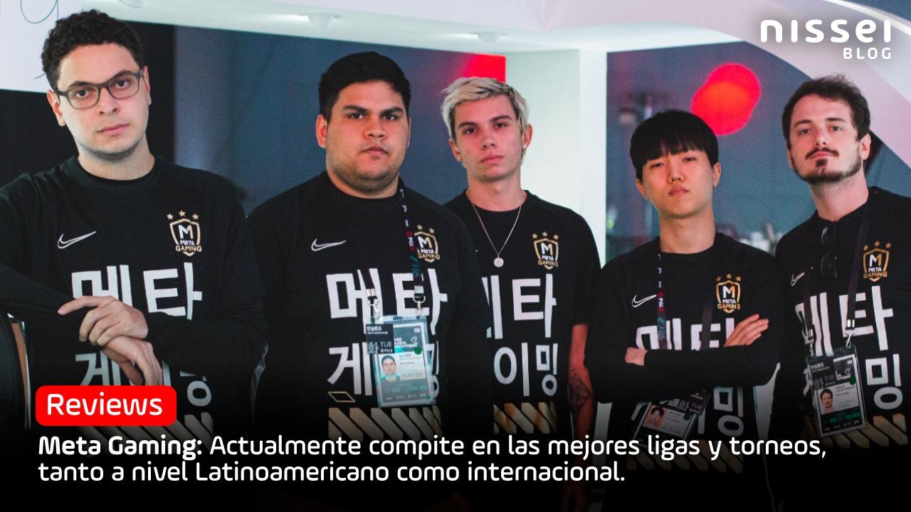 Nissei apoya a «Meta Gaming» el gran equipo de eSports de Paraguay