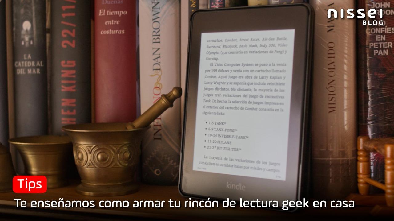 ¿Querés armar un rincón tecnológico de lectura en casa? te enseñamos como