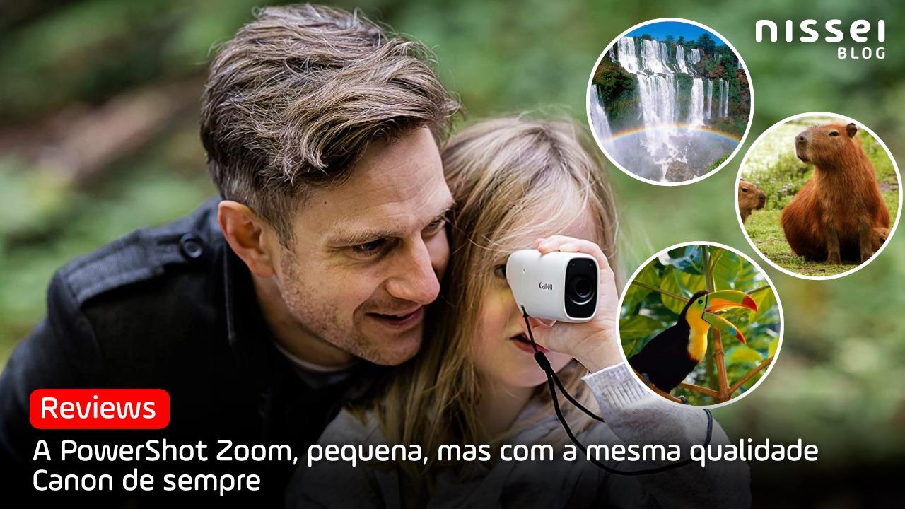Canon PowerShot Zoom: O telescópio de bolso para a nova era digital