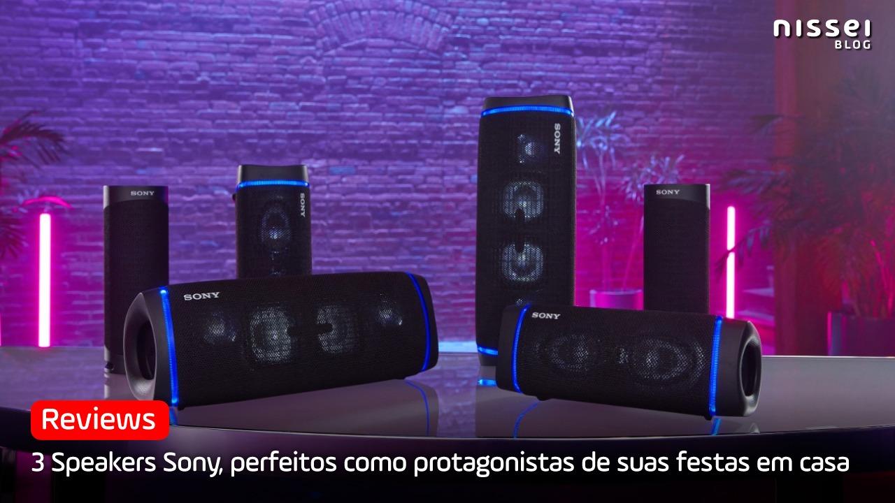 Os 3 melhores speakers da Sony 2021