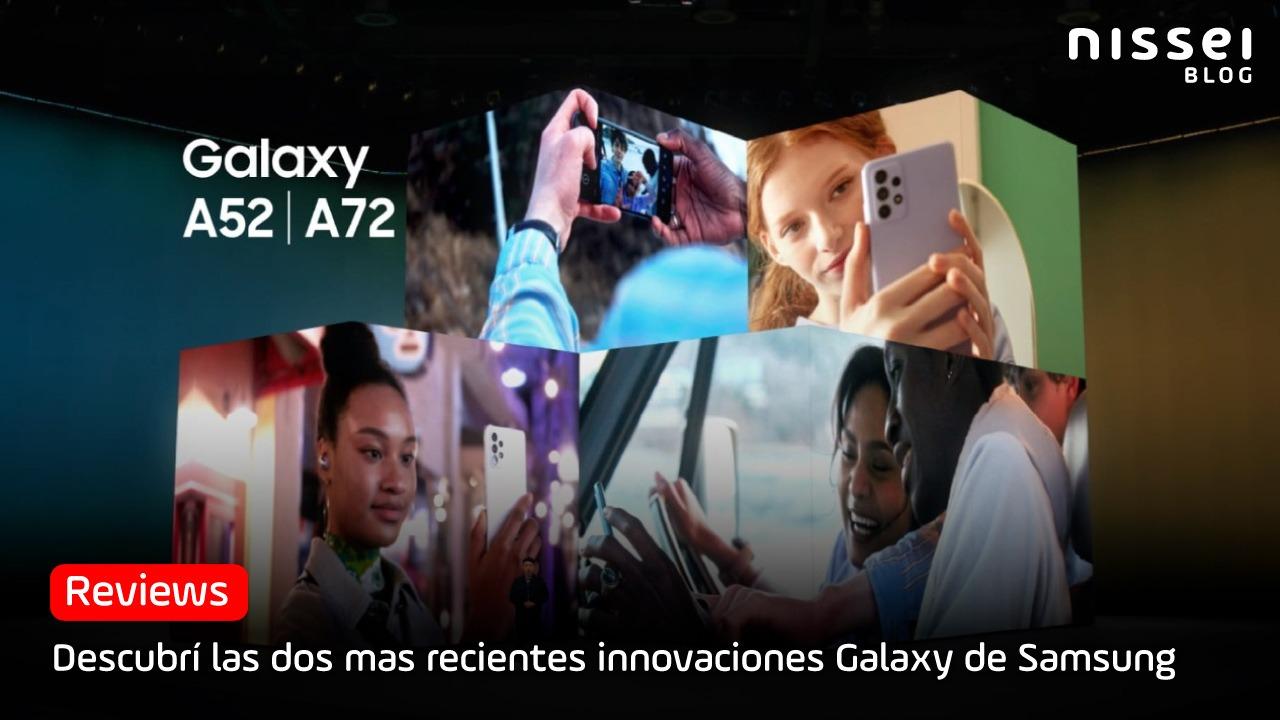 Las dos nuevas opciones más accesibles de Samsung, Galaxy A52 y A72