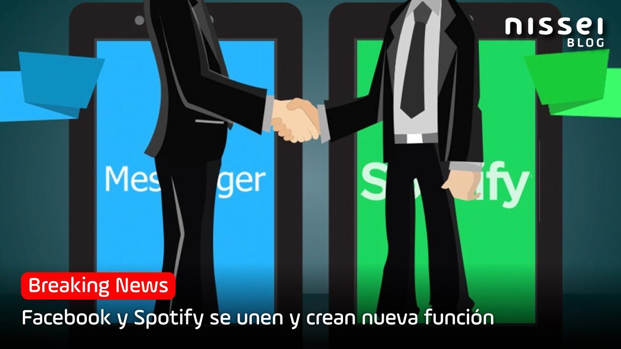Facebook y Spotify crean una nueva función disponible a partir de mayo