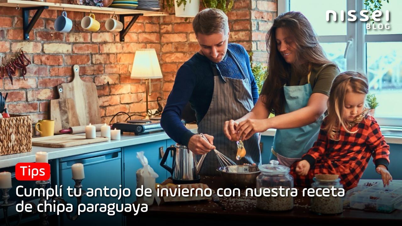 Receta Nissei de chipa paraguaya, para mimarte en este invierno