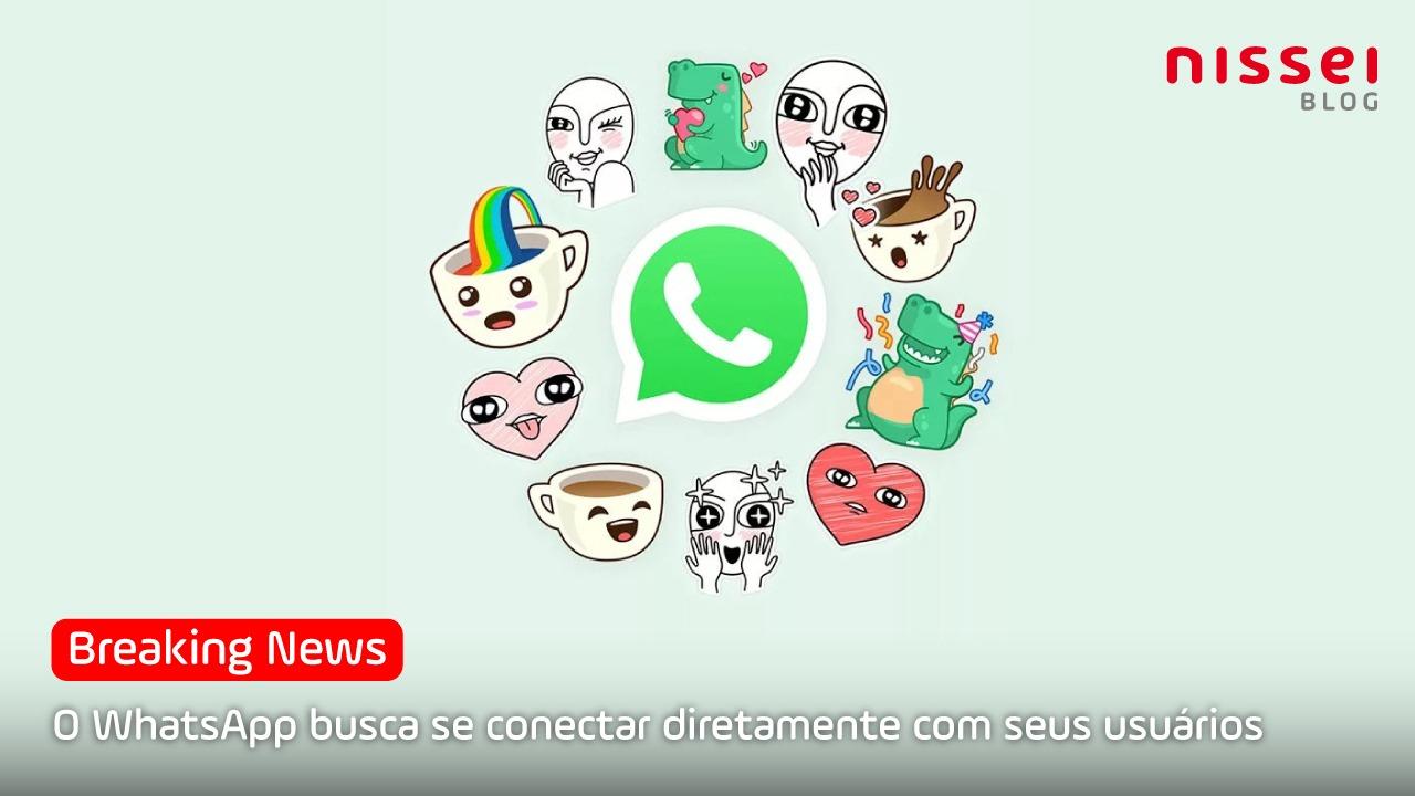 Agora o WhatsApp também tem status. Aqui te contamos o porquê
