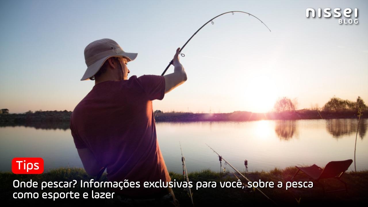 Pesca esportiva na fronteira: Os 5 melhores lugares para praticar