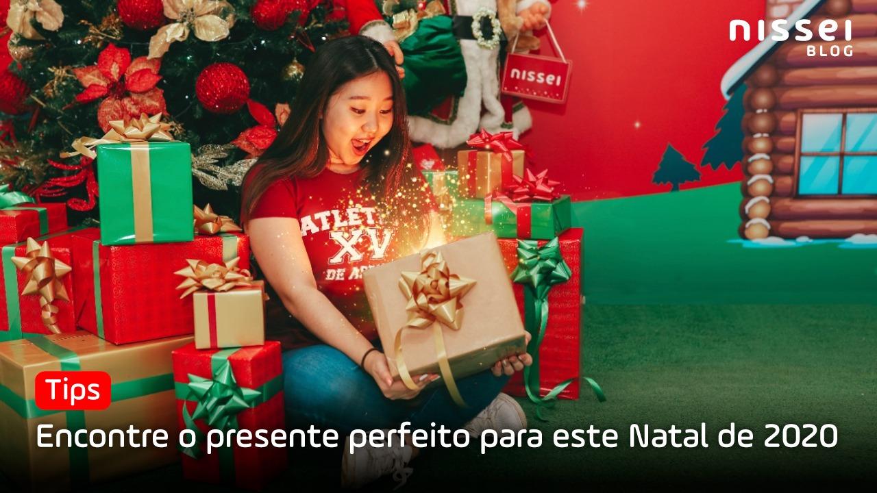 O que presentear no Natal? Nossa Melhor seleção de 2020 para você