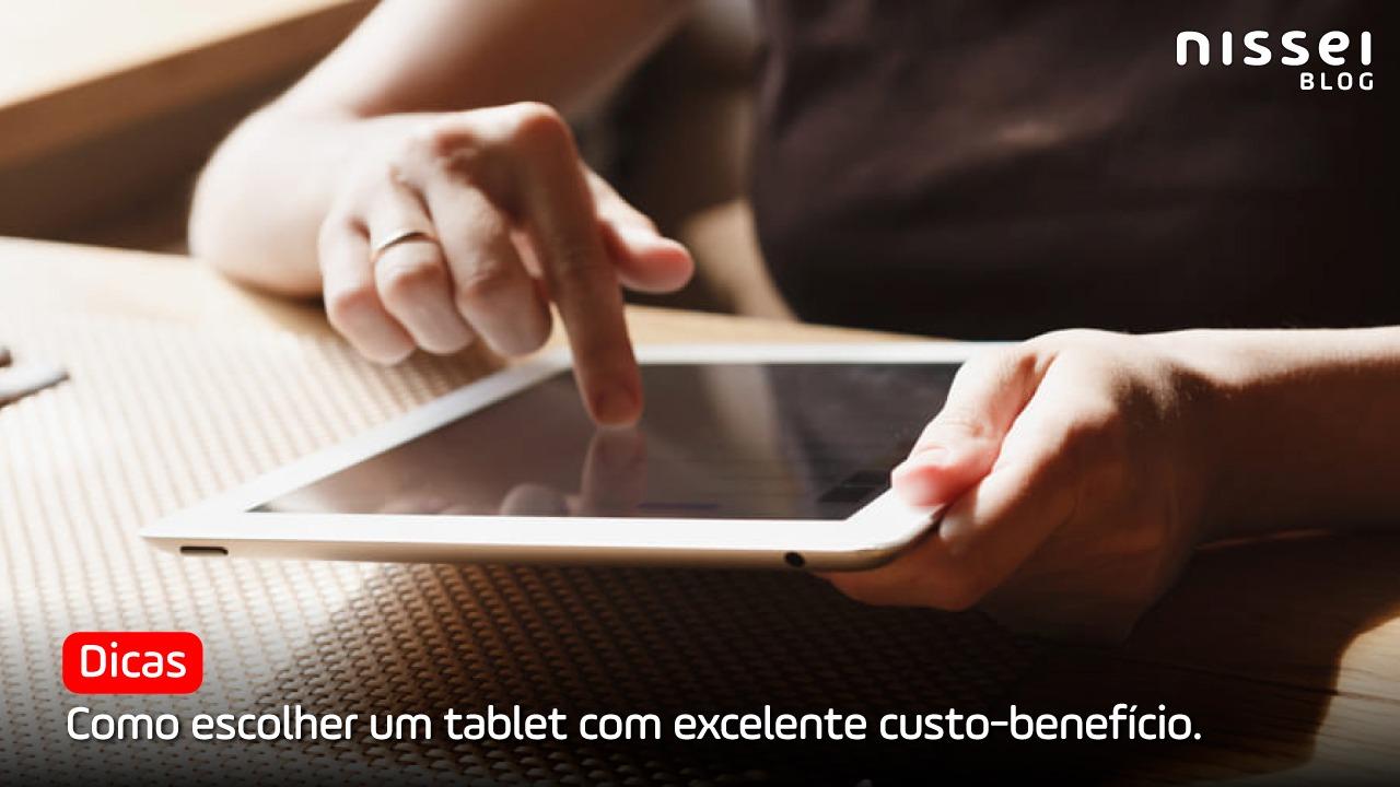 Tablet bom e barato para estudar, jogar ou trabalhar