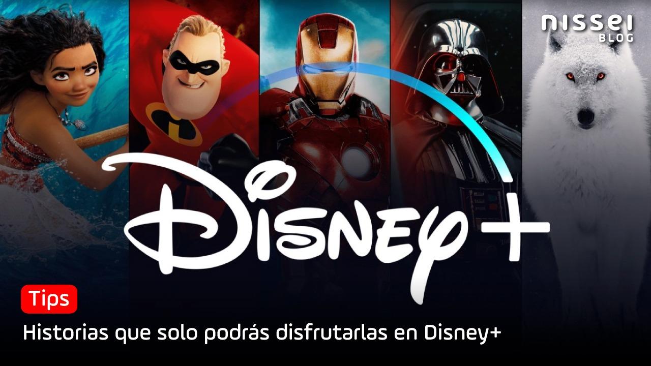 Conocé las 8 razones por las que tenés que suscribirte a Disney+