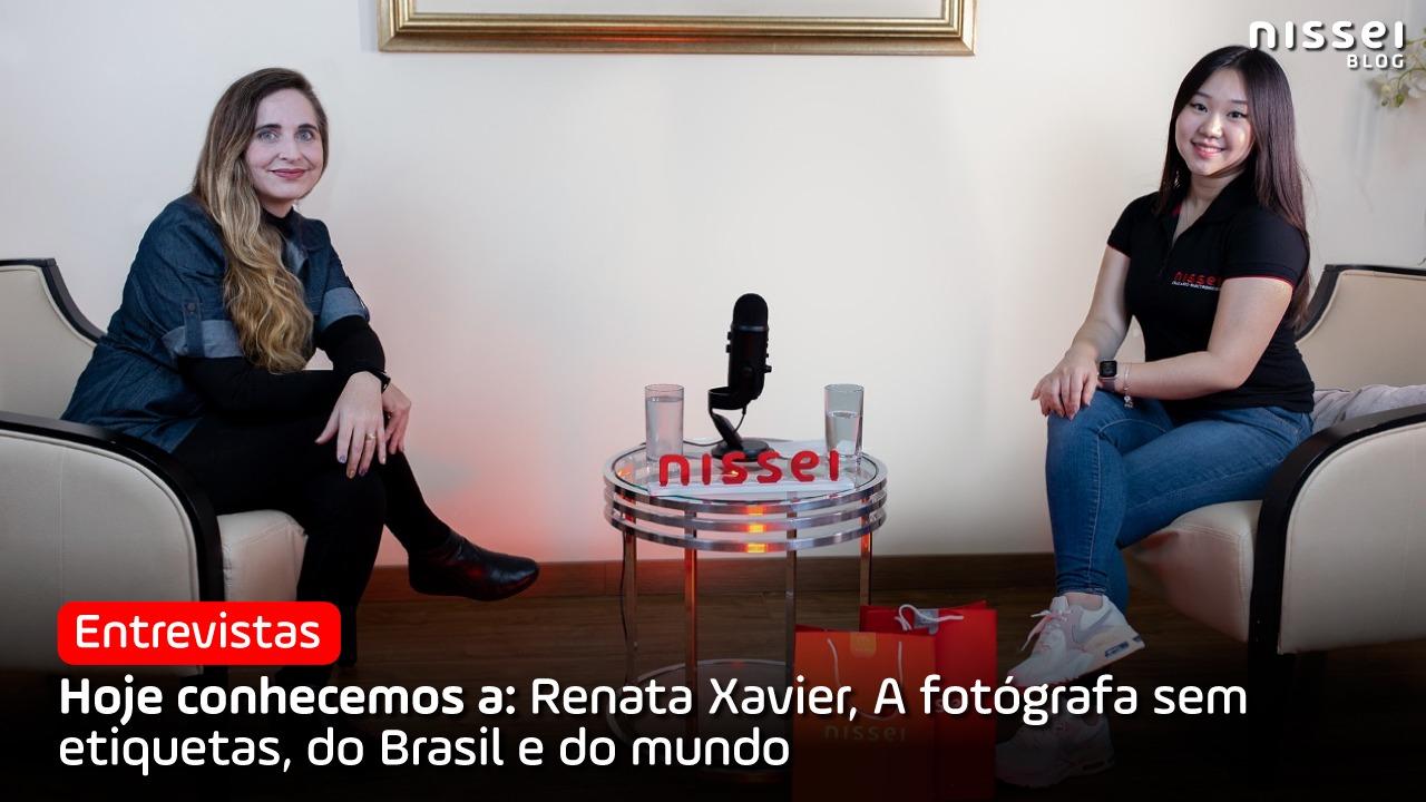 Renata Xavier, a fotógrafa especializada em eternizar a vida