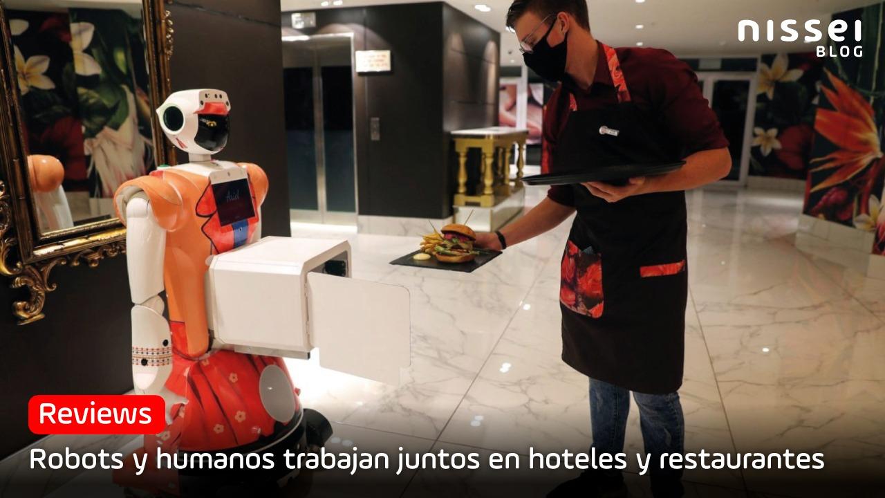 La hospitalidad de robots en hoteles y restaurantes, ya es un hecho