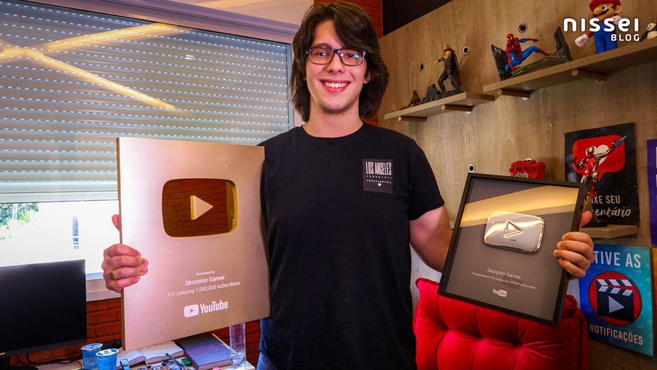 Entrevista com o Skorpion Gamer: O YouTuber brasileiro que começou aos 14 anos e hoje tem mais de 4 milhões de inscritos