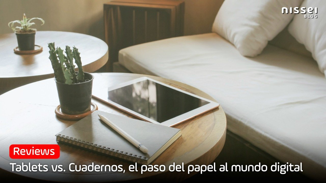 Cuadernos vs. Tablets: ¿El papel está en extinción?