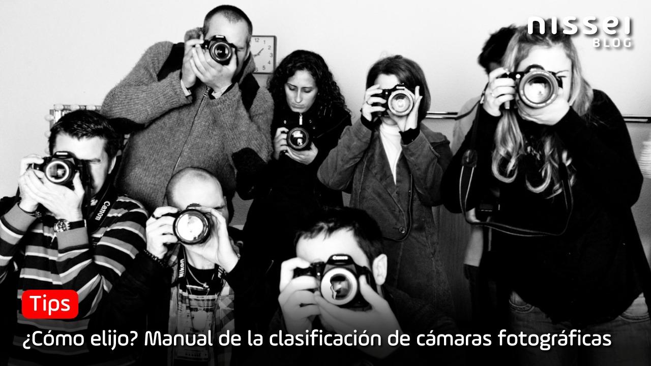 Tipos de cámaras fotográficas en el mercado