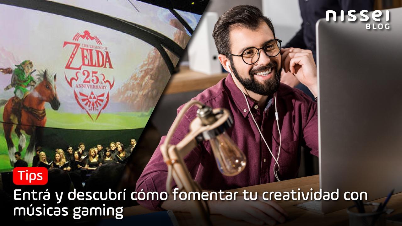 Aumente sua criatividade ouvindo música de videogame