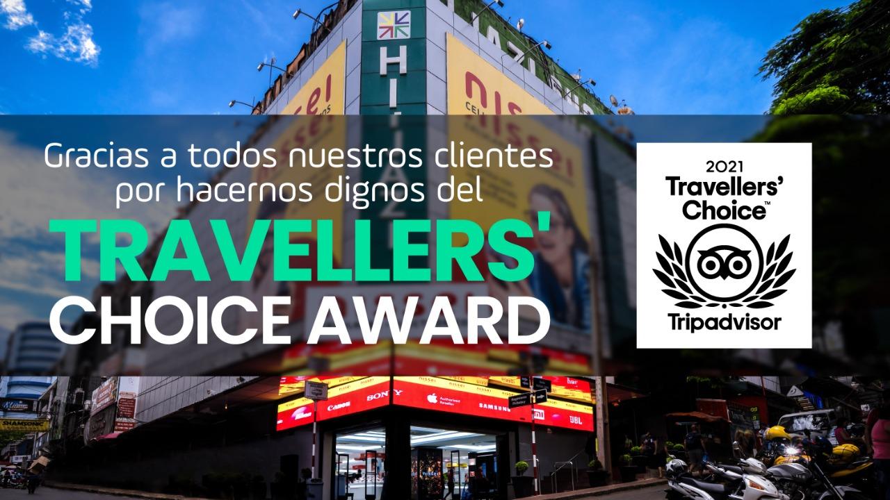 Tripadvisor certifica a Nissei por quinto año consecutivo con el «Travellers'Choice»