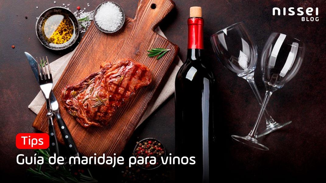 Guía de maridaje para vinos