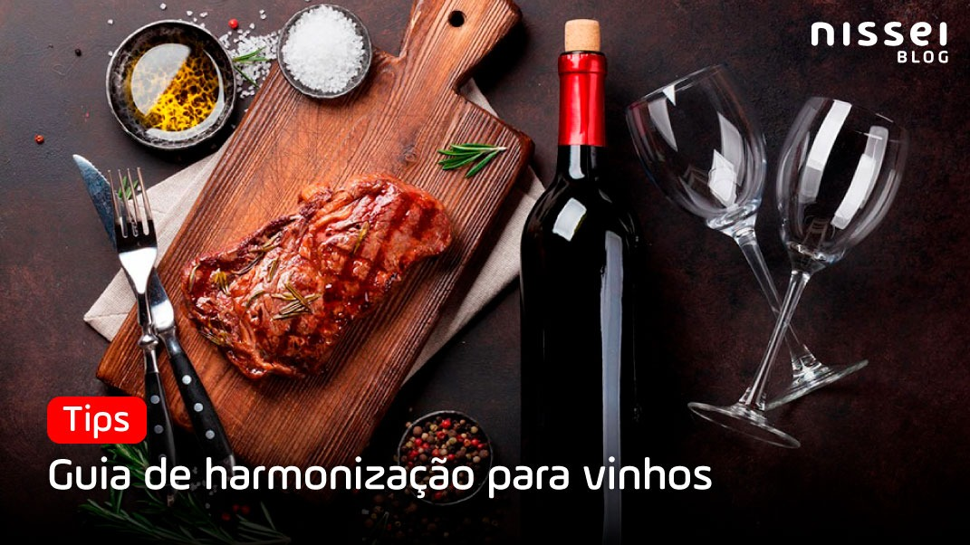 Guia deharmonização para vinhos