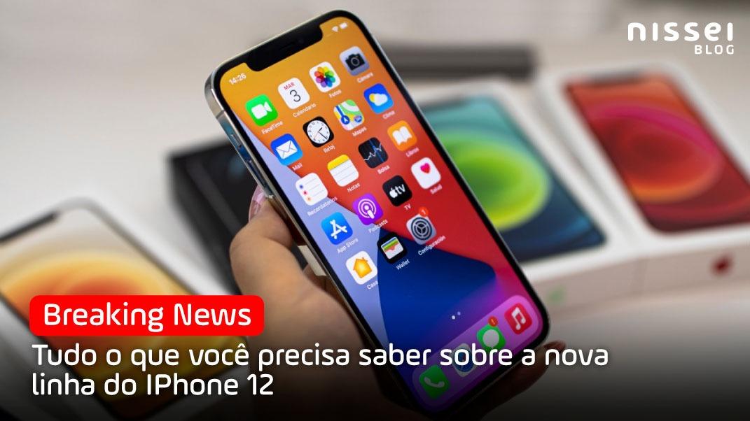 Apple apresenta seus 4 novos modelos de iPhone e suas novas tecnologias.