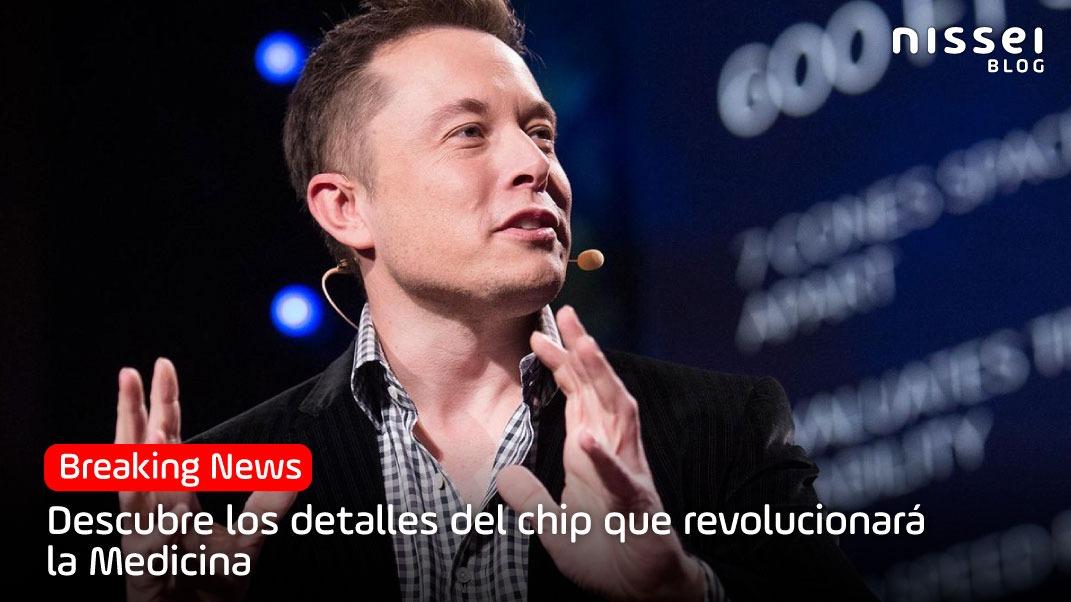 Elon Musk nos presenta un chip que conecta el cerebro a computadoras