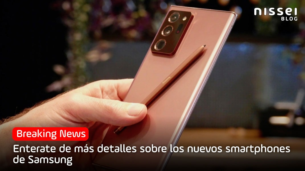 Galaxy Unpacked: Los nuevos celulares premium de Samsung