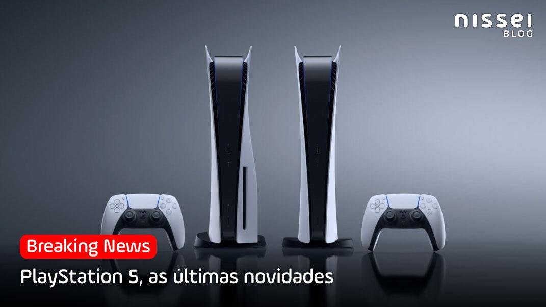 As últimas novidades do PS5