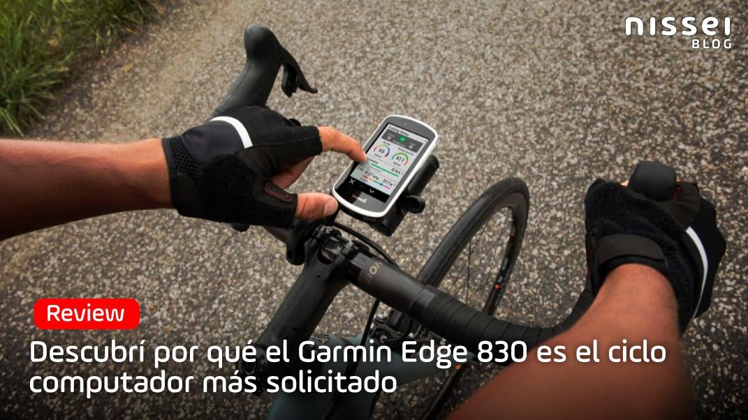 Garmin Edge 830, el ciclo computador más completo del mercado